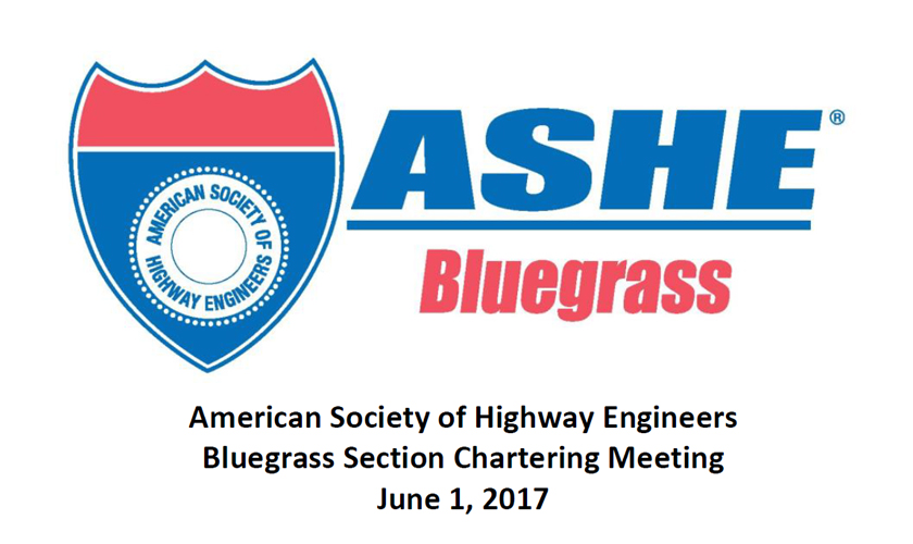Show here is the logo of newest section of the Great Lakes Region of ASHE - the American Socieity of Highway Engineers